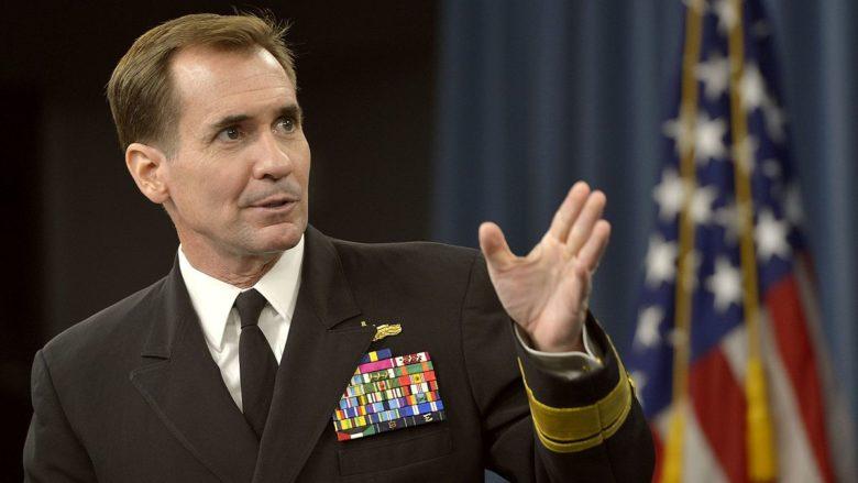Mluvčí amerického ministerstva zahraničí John Kirby; Foto: ISIL