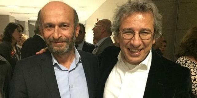 Turečtí novináři Can Dündar a Erdem Gül; Foto: VOA