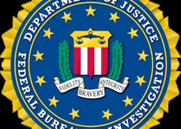 Znak FBI; Autor: Federální úřad pro vyšetřování / Wikimedia Commons