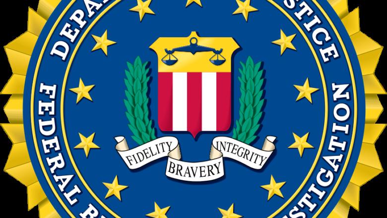 Znak FBI; Autor: Federální úřad pro vyšetřování