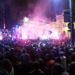 Srbové protestovali proti sbližování země s NATO