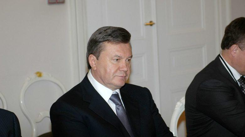 Bývalý ukrajinský prezident Viktor Janukovyč; Foto: Saeima