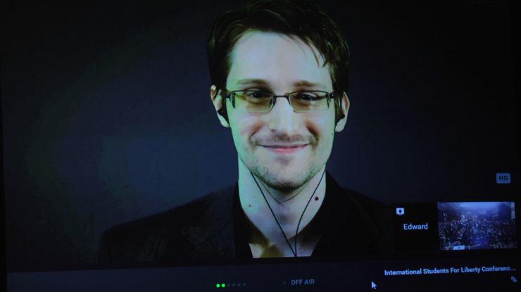 Edward Snowden; Foto: Gage Skidmore / Wikimedia Commons