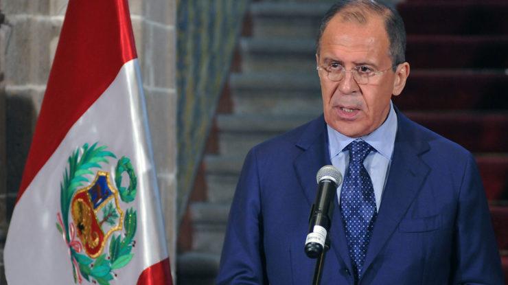 Ruský ministr zahraničí Sergej Lavrov; Foto: Ministerstvo zahraničí Peru / Wikimedia Commons