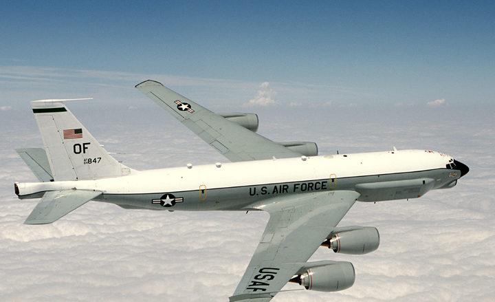 Americký špionážní letoun RC-135U; Foto: Vojenské letectvo USA / Wikimedia Commons