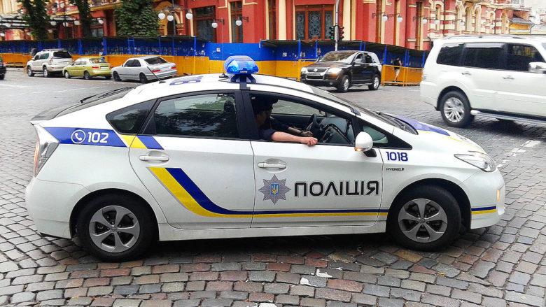 Ukrajinská policie; Ilustrační foto: Qypchak / Wikimedia Commons