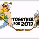 RUSKO: Asterix a Obelix se stali maskoty MS v ledním hokeji 2017