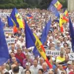 DEMONSTRACE: V Moldavsku se protestuje proti prozápadní vládě