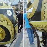 UKRAJINA: Pravoslavné Velikonoce se svastikou