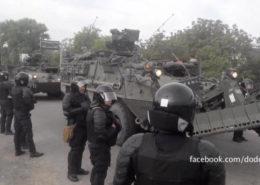 Vojenská technika NATO v Moldavsku; Foto: Igor Dodon