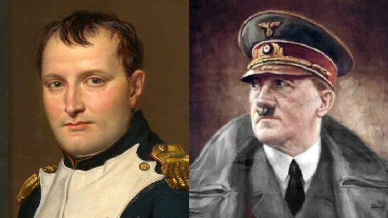 Napoleon Bonaparte, Adolf Hitler; Koláž: Wikimedia Commons