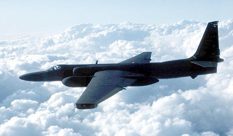 Americký špionážní letoun Lockheed U-2R; Foto: Wikimedia Commons