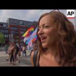 VIDEO: V Bruselu začaly protesty proti summitu NATO