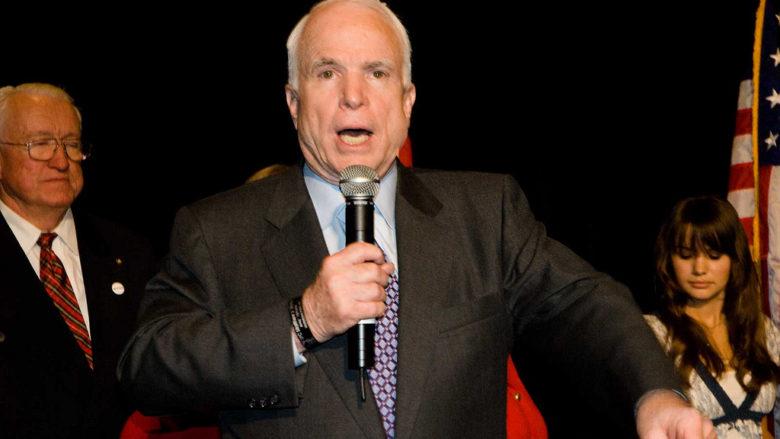 Americký senátor John McCain; Foto: Wikimedia Commons
