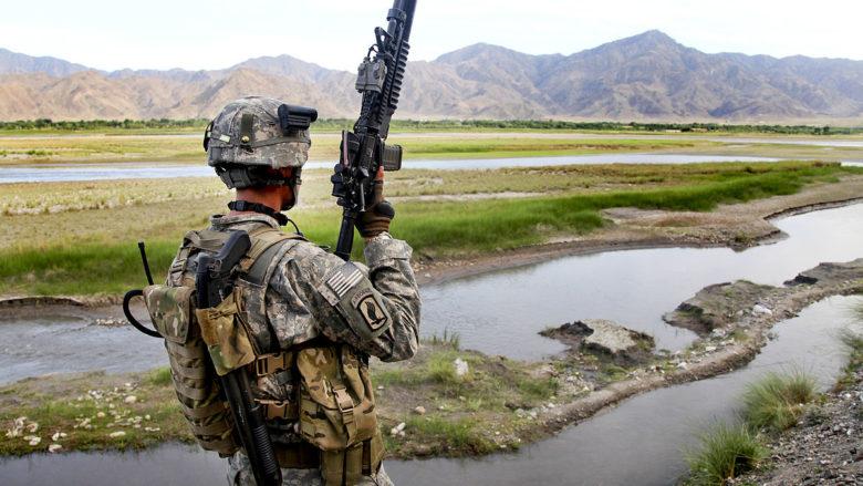 Americká armáda v Afghanistánu; Foto: Wikimedia Commons