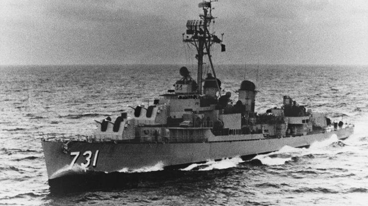 Americký vojenský torpédoborec USS Maddox; Foto: US Navy / Wikimedia Commons