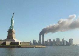 Útoky z 11. září v New Yorku; Foto: Služba národního parku / Wikimedia Commons