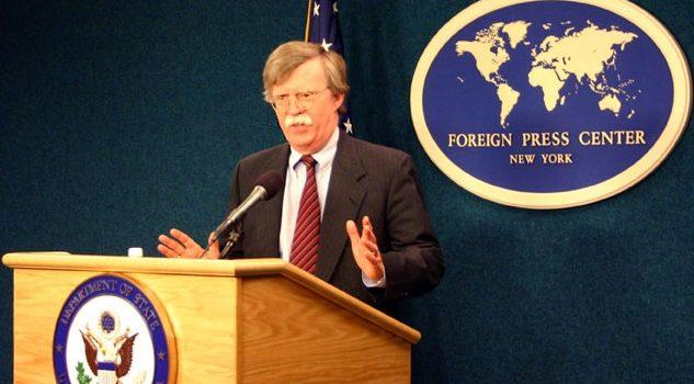 Bezpečnostní poradce amerického prezidenta John R. Bolton; Foto: Ministerstvo zahraničí USA / Wikimedia Commons