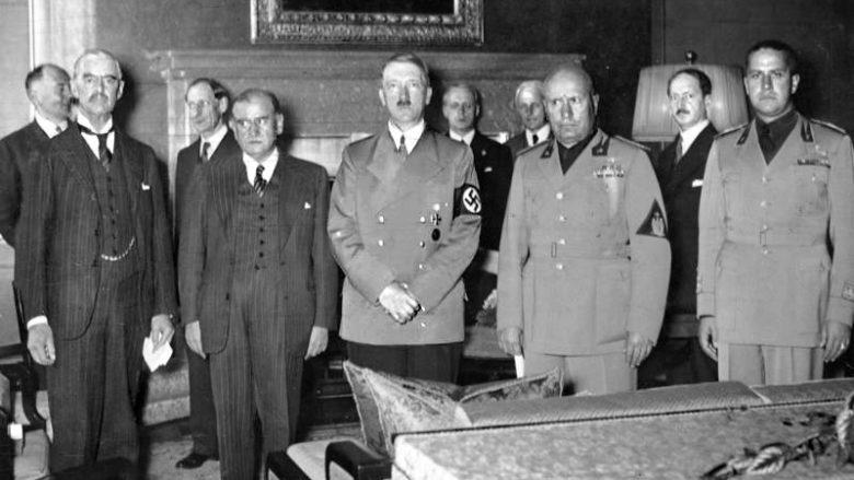Signatáři Mnichovské dohody; Foto: Wikimedia Commons