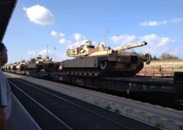 Na Slovensku dochází k větším přesunům vojenské techniky směrem na východ