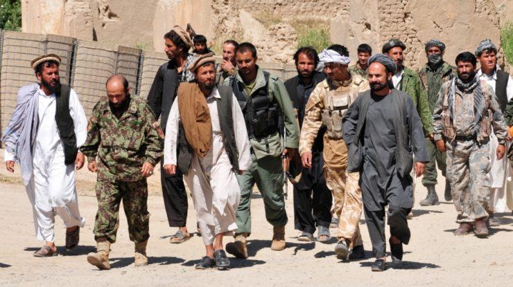 Příslušníci hnutí Tálibán; Foto: isafmedia, Wikimedia Commons