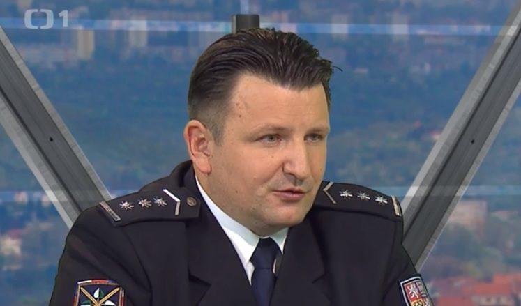 Policejní prezident Tomáš Tuhý; Foto: repro Česká televize