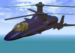 Projekt nového vrtulníku Kamov; Foto: Facebook / Scramble Magazine