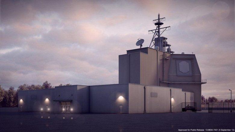 Aegis Ashore komplex pro odpalování raket v Rumunsku; Foto: US Naval Forces / Wikimedia Commons