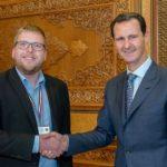 SÝRIE: Prezident Bašár Asad přijal předsedu Českého mírového hnutí