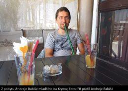 Z pobytu Andreje Babiše na Krymu; Foto: Facebookový profil Andreje Babiše