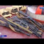VIDEO: Zadržené ukrajinské lodě byly plné zbraní