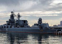 Ruský křižník Varyag v přístavu Sevastopol; Foto: Alexxx1979, Wikimedia Commons