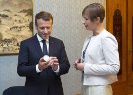Emmanuel Macron se stará více o umění než o problémy obyvatel Francie; Foto: Estonské předsednictví EU2017EE / Wikimedia Commons