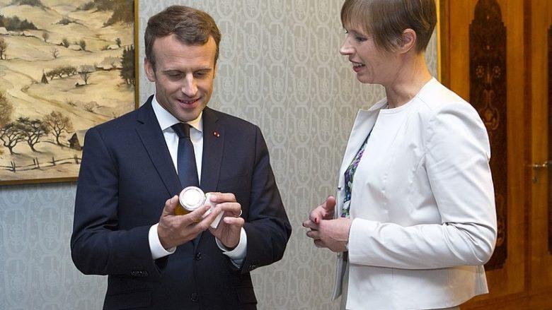 Francouzský prezident Emmanuel Macron; Foto: Estonské předsednictví EU2017EE / Wikimedia Commons
