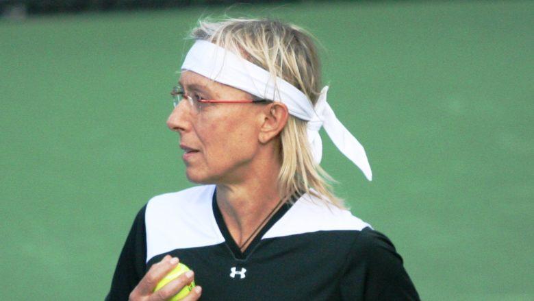 Bývalá tenistka českého původu Martina Navrátilová; Foto: Robbie Mendelson / Wikimedia Commons