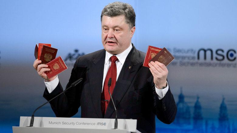Ukrajinský prezident Petro Porošenko; Foto: Widmann / Wikimedia Commons