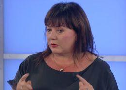 Ministryně financí Alena Schillerová; Reprofoto: TV Barrandov