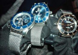 Některé z uloupených luxusních hodinek; Foto: Policie ČR