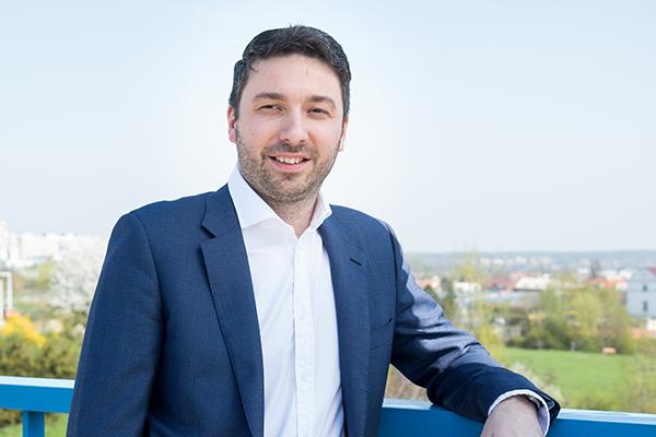 Kladenský politik Lukáš Hanes (ODS); Foto: odskladno.cz
