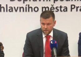 Petr Witowski, nový ředitel pražského dopravního podniku; Reprofoto: Česká televize