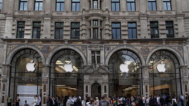 Apple Store na Regent Street v Londýně; Foto: Tony Hisgett / Wikimedia Commons