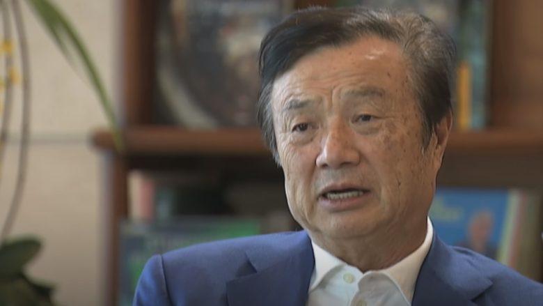 Ren Zhengfei, zakladatel firmy Huawei; Reprofoto: YouTube.com