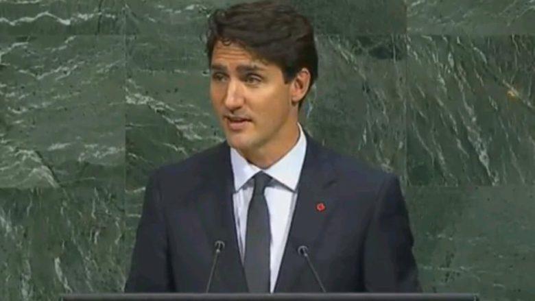 Kanadský premiér Justin Trudeau; Reprofoto: YouTube.com