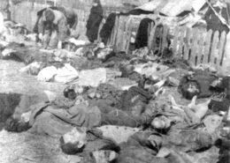 Polské civilní oběti Banderovců v roce 1943; Foto: Władysława Siemaszków / Wikimedia Commons