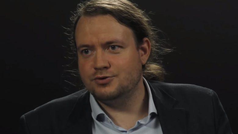 Historik Michal Macháček; Reprofoto: YouTube.com