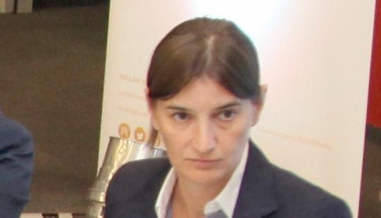 Srbská premiérka Ana Brnabićová; Foto: mediaportal.vojvodina.gov.rs / Wikimedia Commons