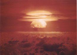 Hřib výbuchu bomby Castle Bravo; Foto: Ministerstvo energetiky Spojených států / Wikimedia Commons
