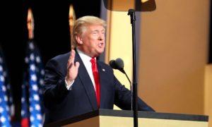 Americký prezident Donald Trump; Foto: Ali Shaker / VOA / Wikimedia Commons