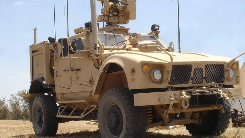 Americké bojové vozidlo M-ATV; Foto: PEOSoldier / Wikimedia Commons