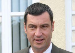 Bavorský premiér a předseda Křesťanskosociální unie (CSU) Markus Söder; Foto: Christian Horvat / Wikimedia Commons